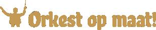 Logo Orkest op maat liggend